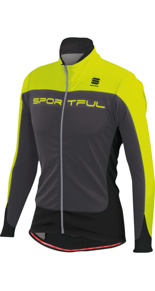 Sportful Flash - Chaqueta Hombre - amarillo/gris